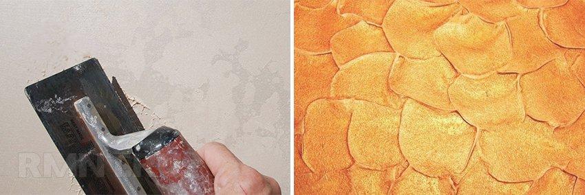 Чем покрасить декоративную штукатурку своими руками 167