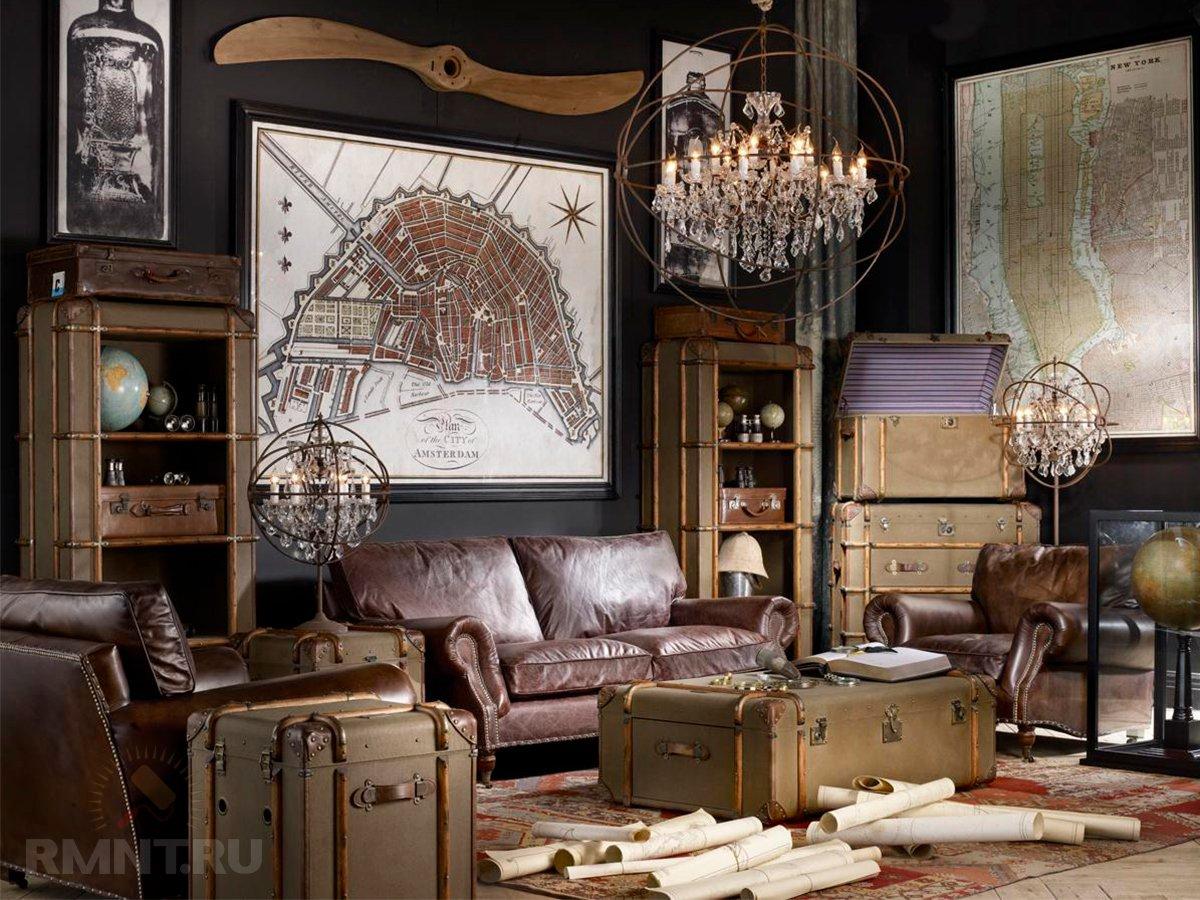 Уникальные интерьеры и мебель от Тимоти Оултона
