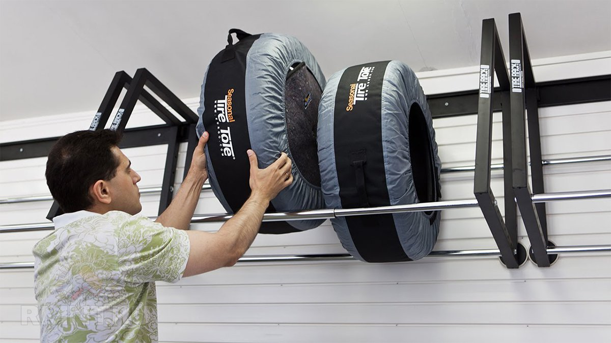 Как обустроить системы хранения в гараже