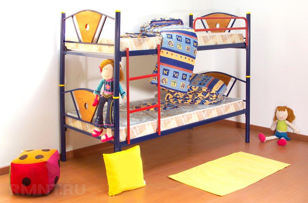 Удачное решение для, как большинство из нас превыкло говорить, детской — двуэтажная кровать