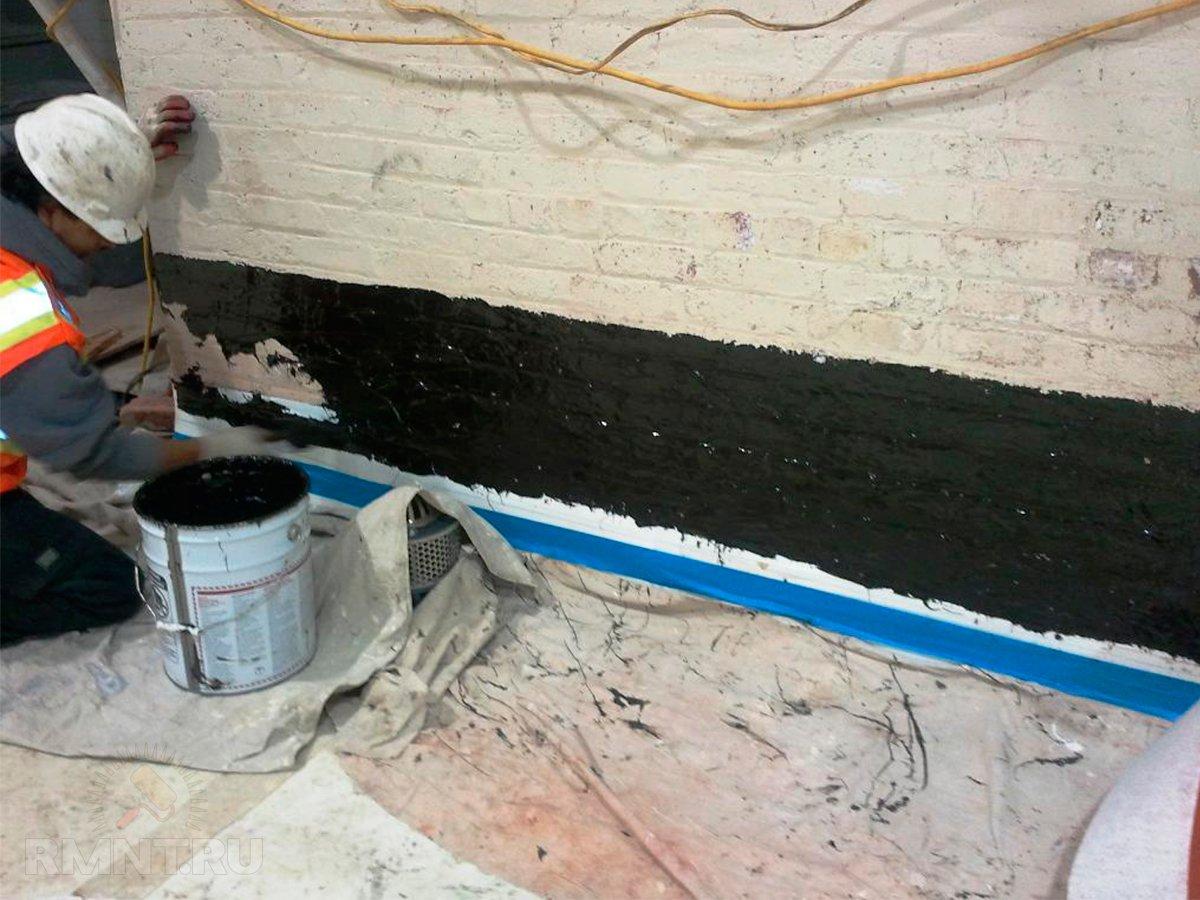 Гидроизоляция погреба в гараже изнутри своими руками