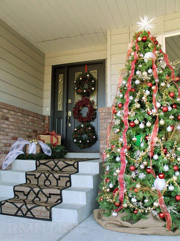 украшения к новому году в доме