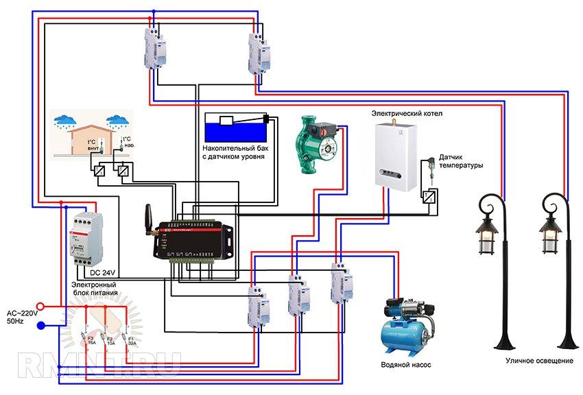 Схема устройства простого фонтана фото 703