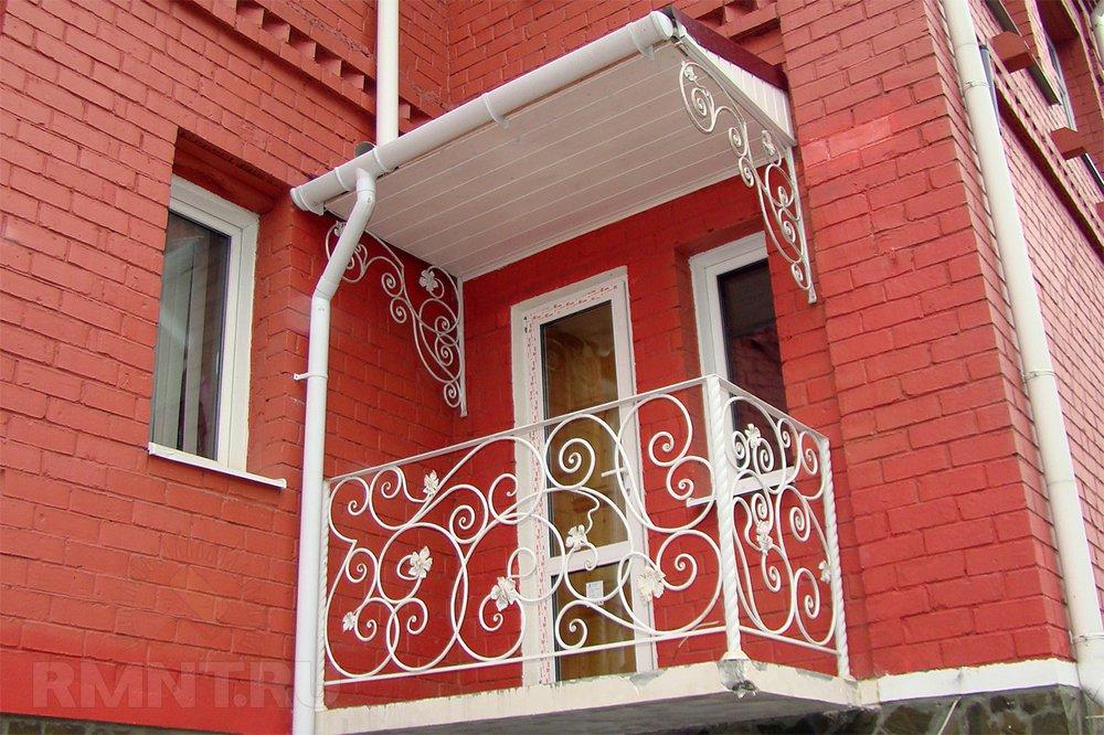 Ковка и кованые изделия: балконы
