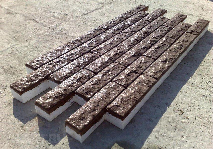 Фасадные термопанели под камень