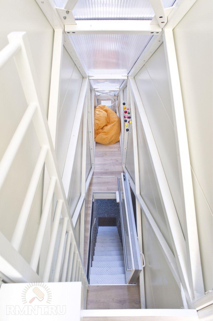Самый «худой» дом на планетке