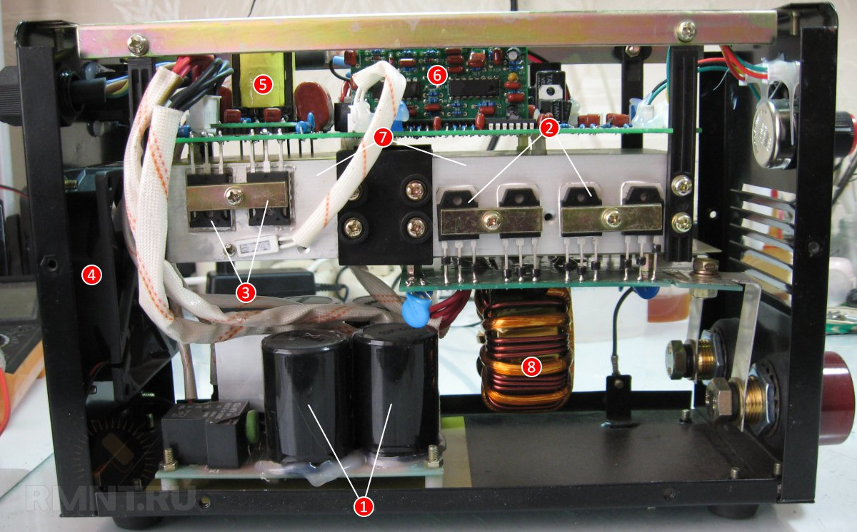 Конструкция сварочного инвертора