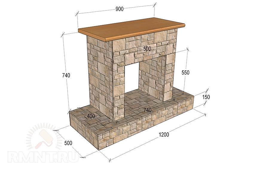 Камин из гипсокартона своими руками инструкция
