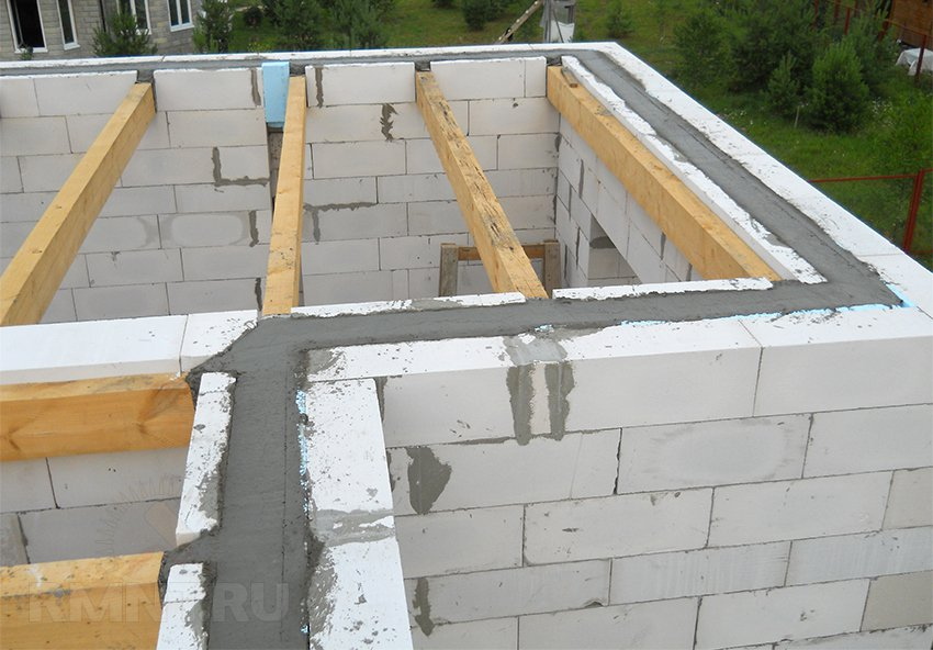 Как строить дом своем руками из газобетона