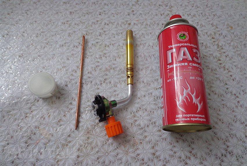Температура пламени газовой горелки на баллончике