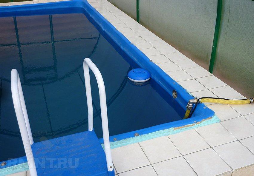 Как сделать обогрев воды в бассейне своими руками