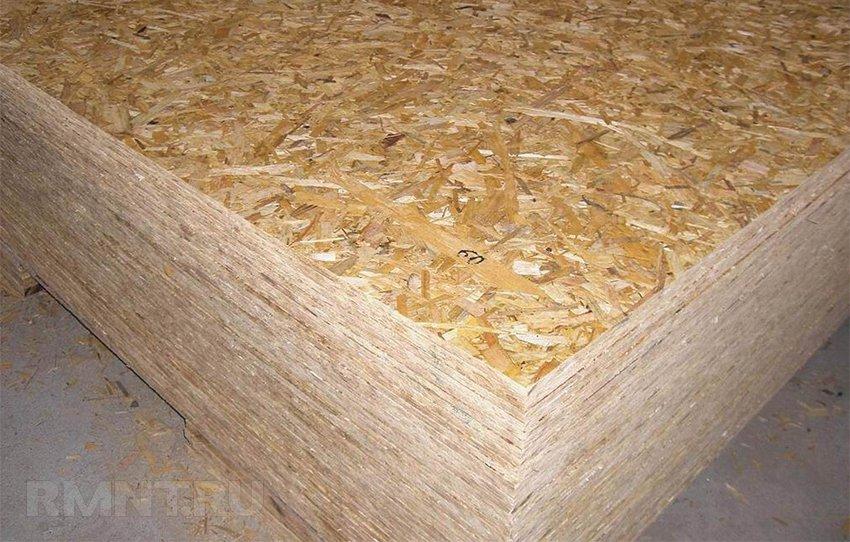 Древесные плиты OSB