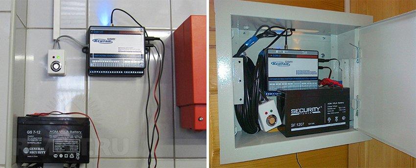 Установка GSM-модуля для управления отоплением
