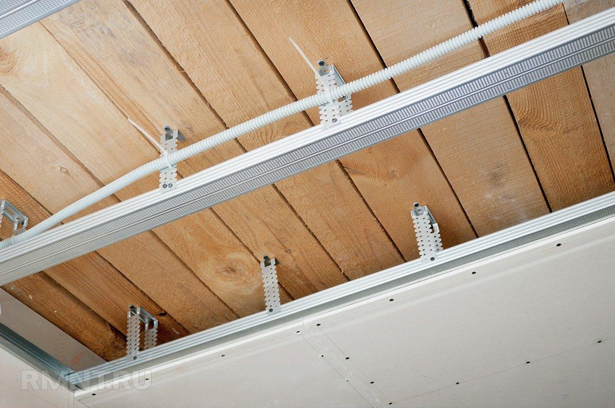 Технология монтажа потолка из гипсокартона любой сложности