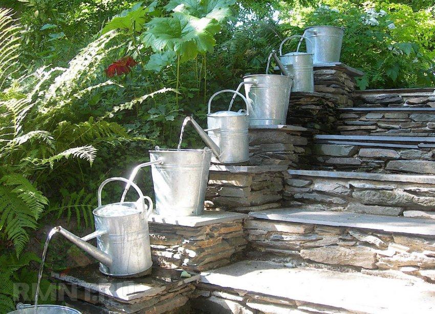 Идеи украшения сада своими руками