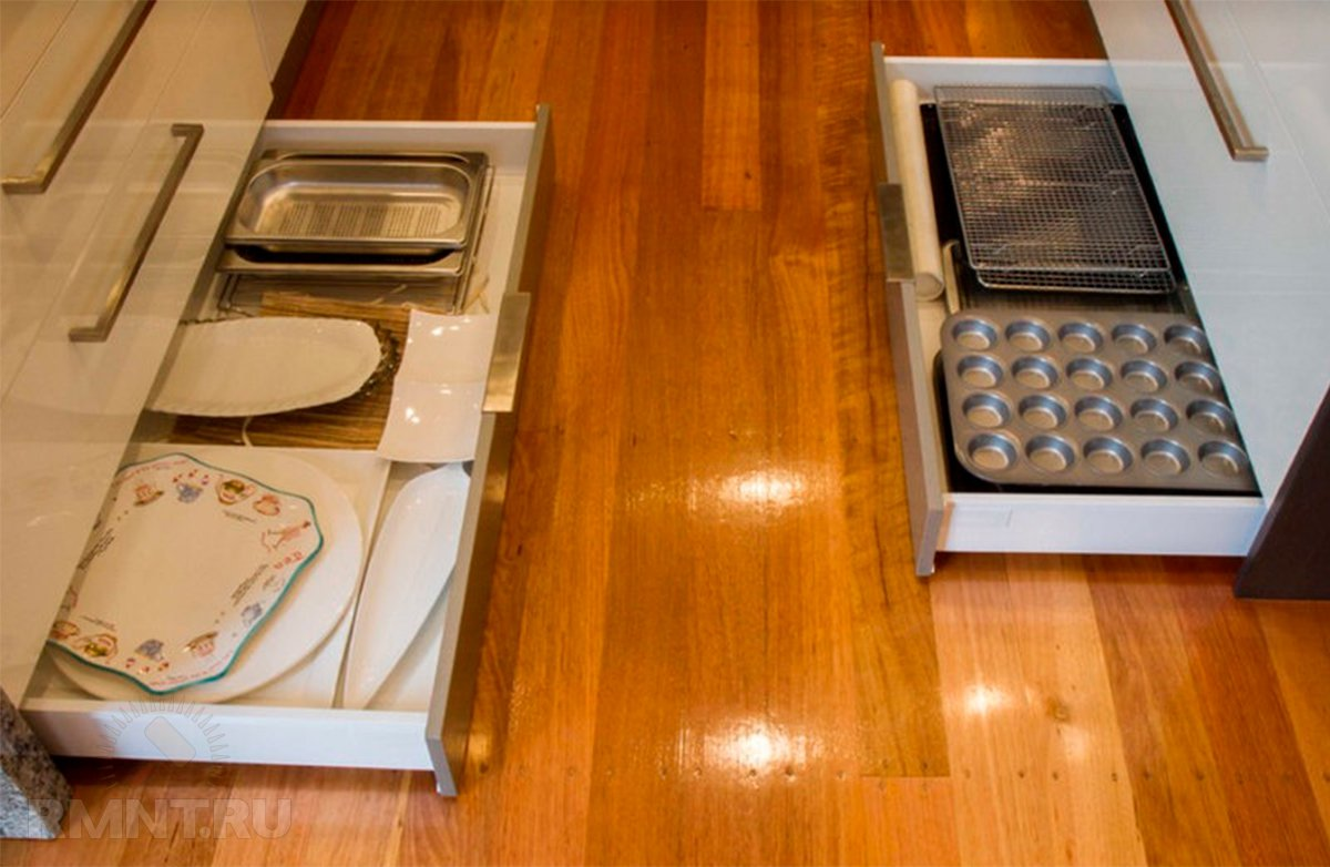 Цокольный ящик для кухни своими руками