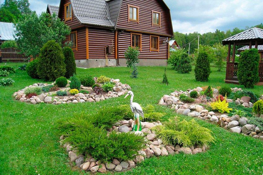 Ландшафтный дизайн садового участка своими руками 17