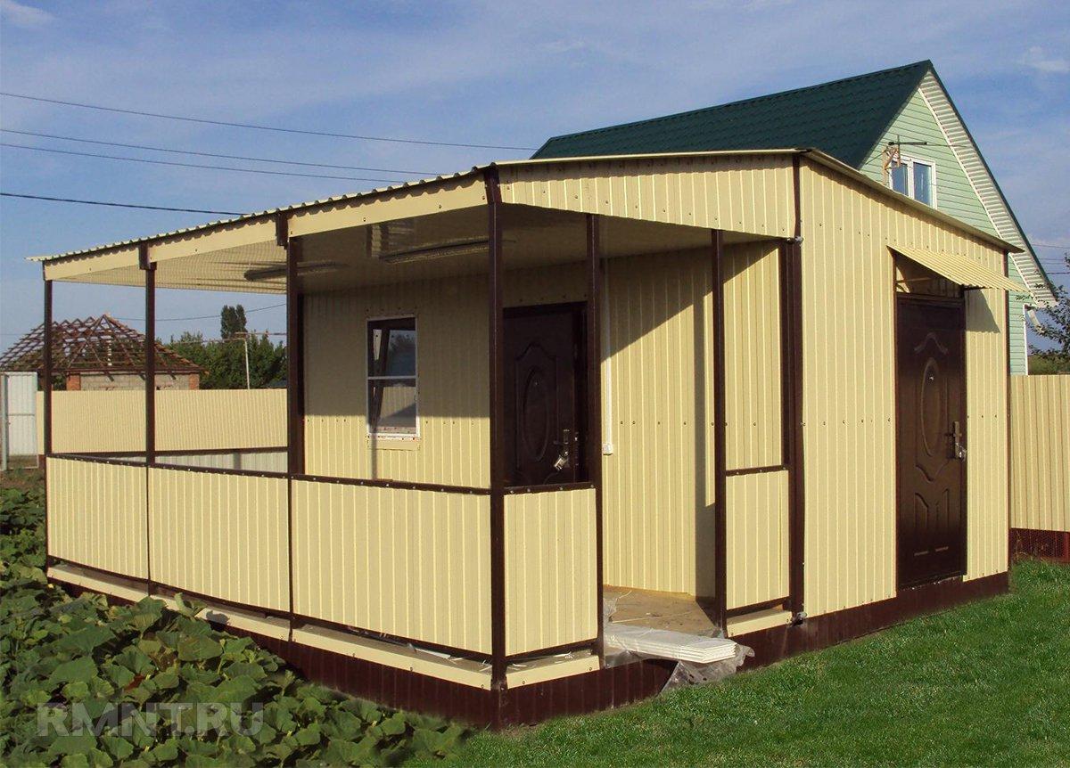 Модульный дачный домик