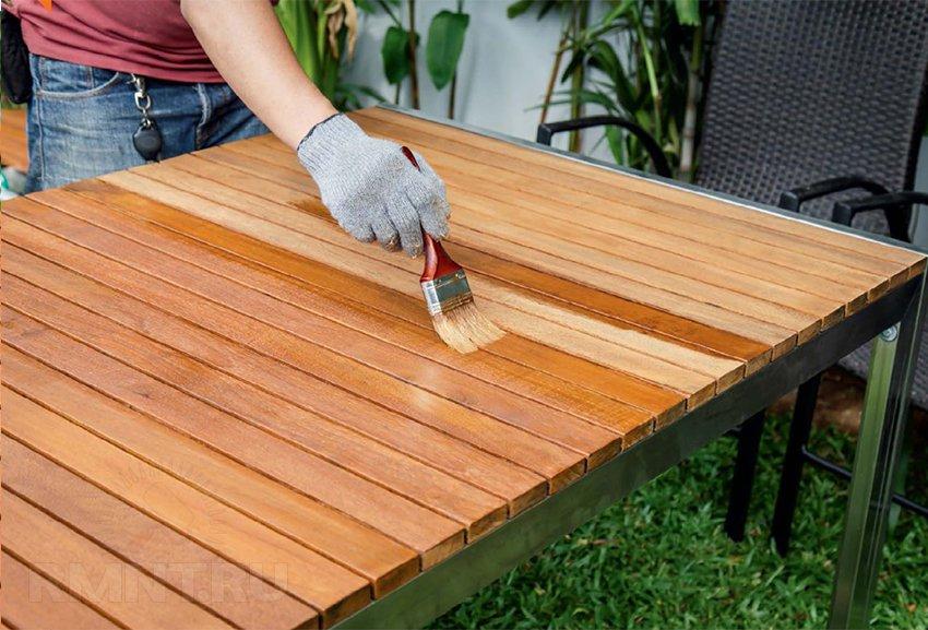 Изготовление покрытия для дерева на основе натурального воска