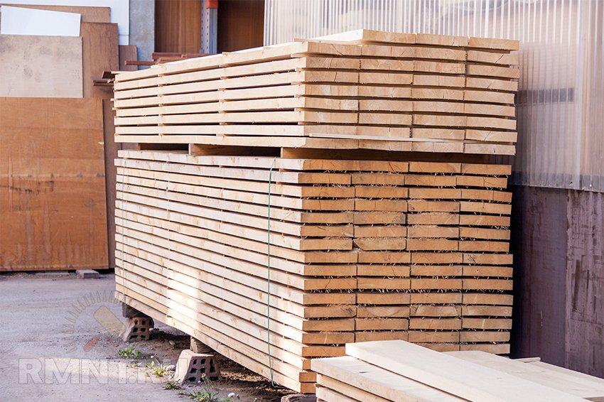 Защита древесины. Как хранить пиломатериалы