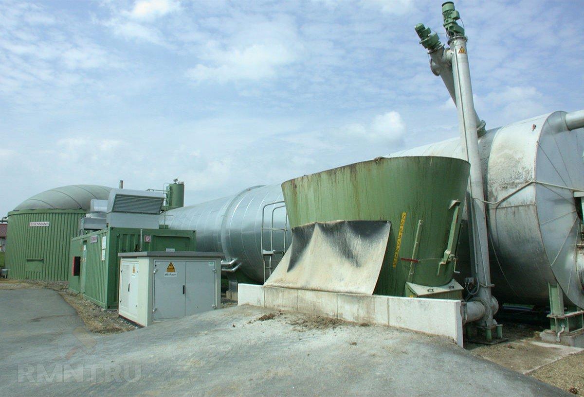 Альтернативное отопление — биогаз