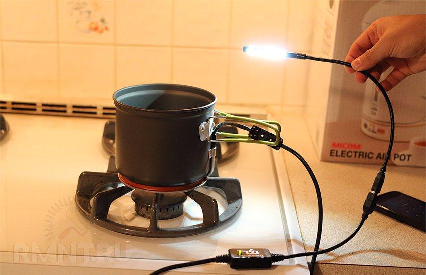 Элементы Пельтье или бесплатное электричество от костра