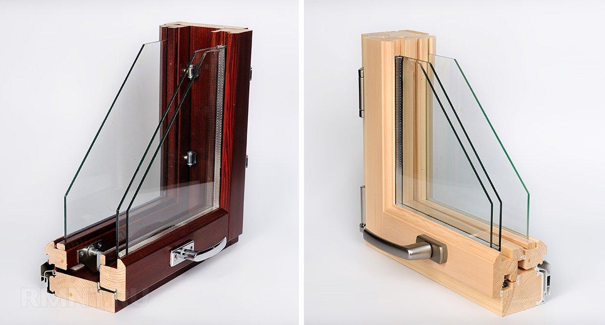 Финские деревянные окна