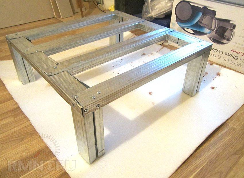 Столик из гипсокартона своими руками 930