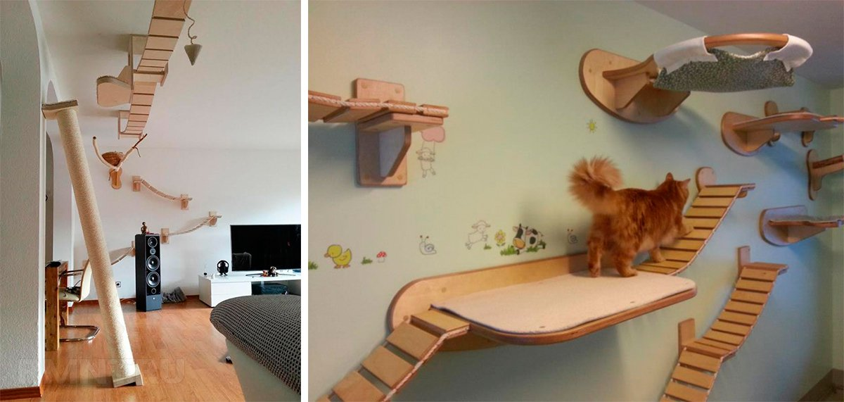 Игровая площадка для кошки