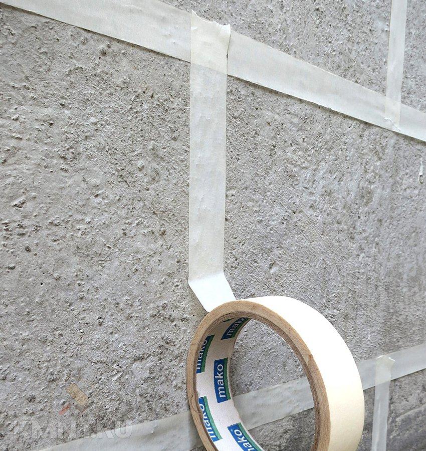 декоративная покраска бетонного забора фото