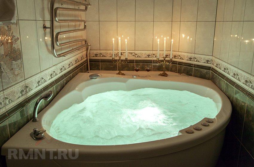 Гидромассажные ванны. Релаксирующие процедуры не выходя из дома