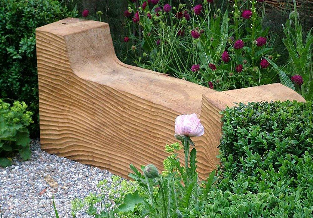 Необыкновенная, как многие думоют, садовая мебель