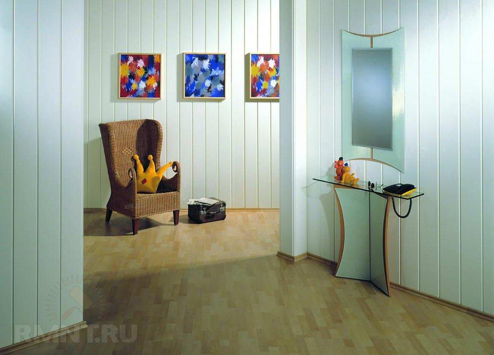 Панели пвх в интерьере квартиры фото
