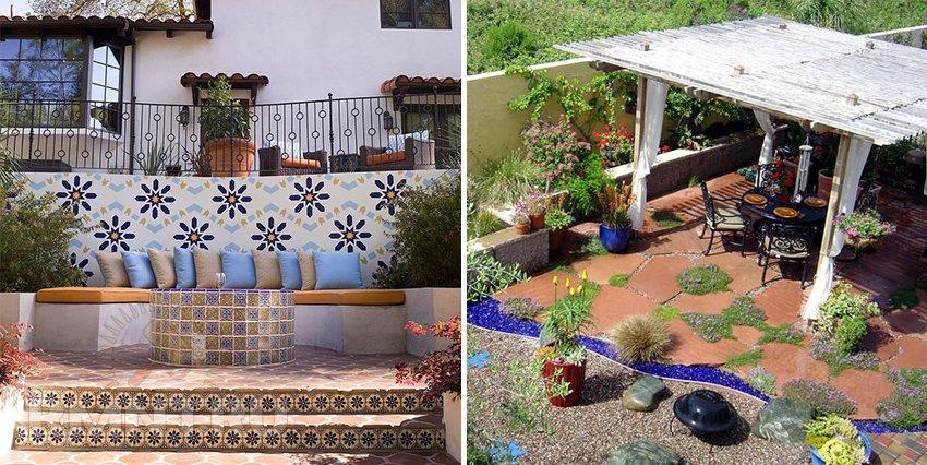 Мавританский сад в ландшафтном дизайне — оазис покоя и наслаждения
