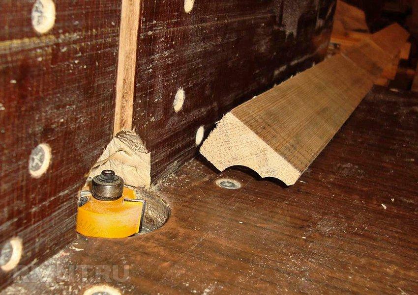 Филенчатый шкаф из массива сосны своими руками
