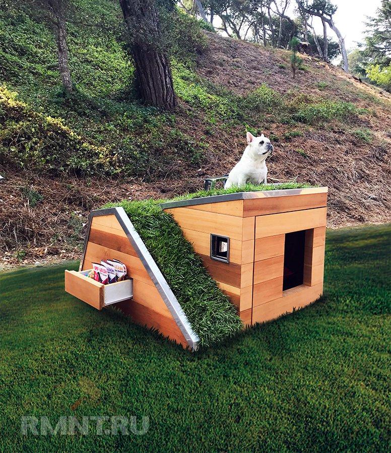 Экобудка для собаки от компании Schicketanz
