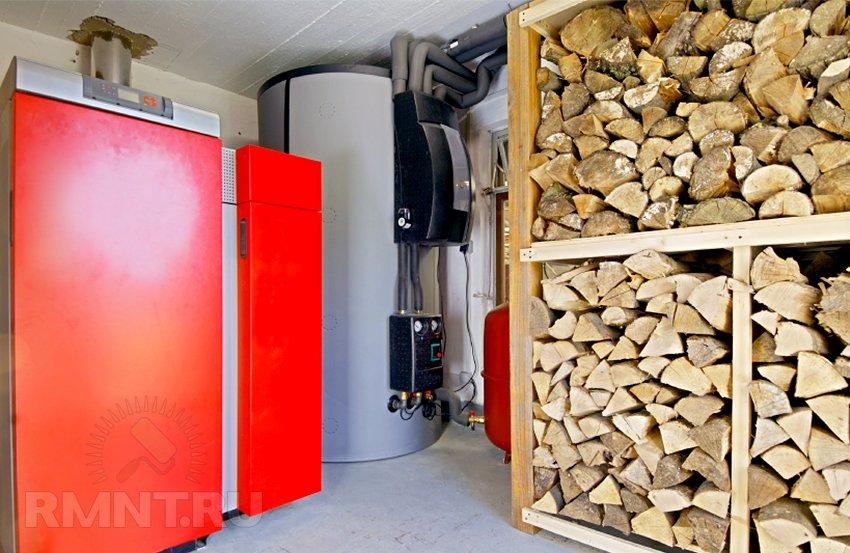 дрова необходимо сушить (в