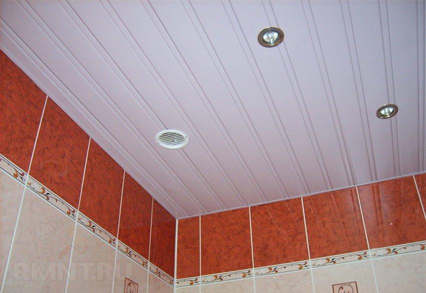 Потолок пвх на кухне своими руками фото 551