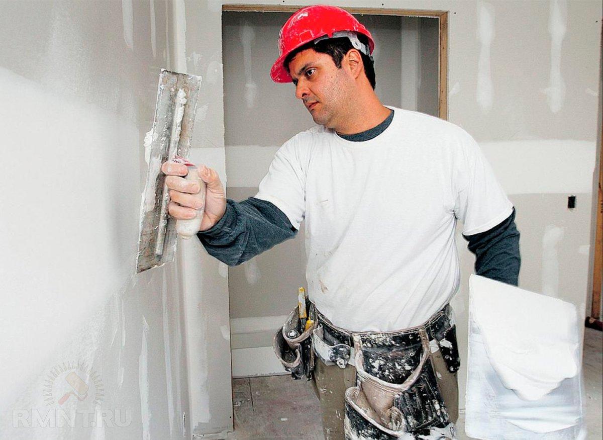 Подготовка стен в ванной комнате под плитку