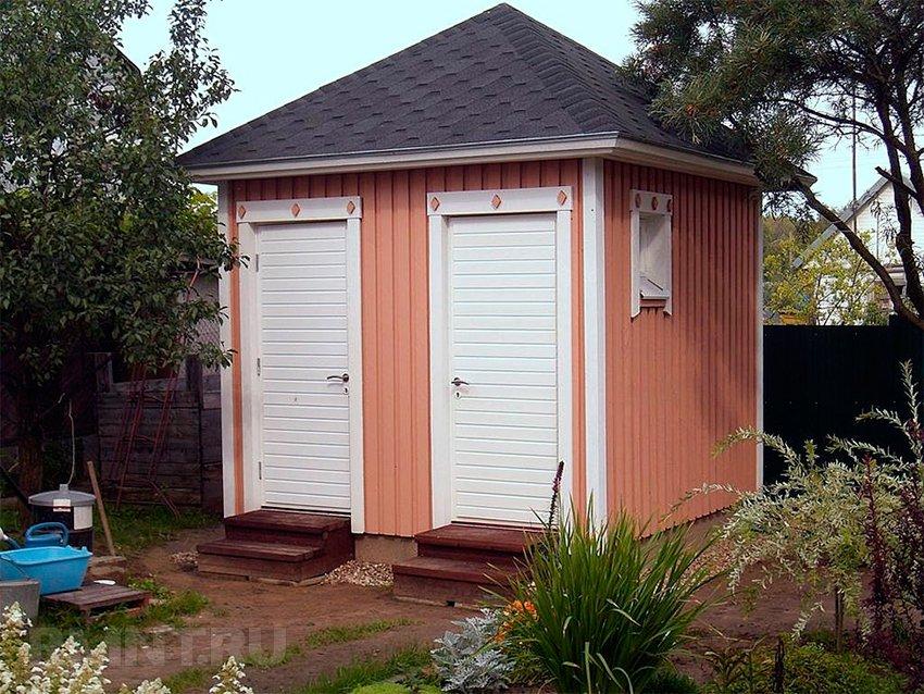 Туалет и душ на даче своими руками проекты