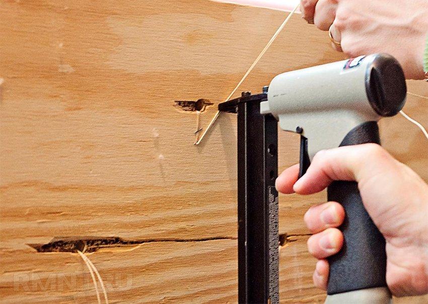 Каретная стяжка своими руками мебель