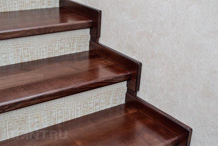 Ламинат на лестницу своими руками 73