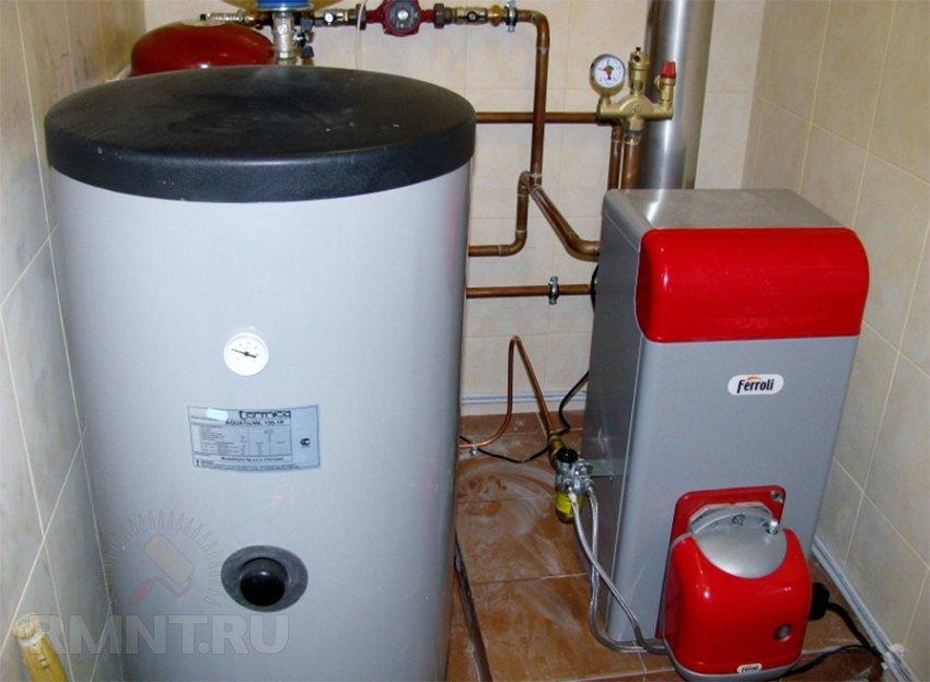 Тепловой аккумулятор в системе отопления