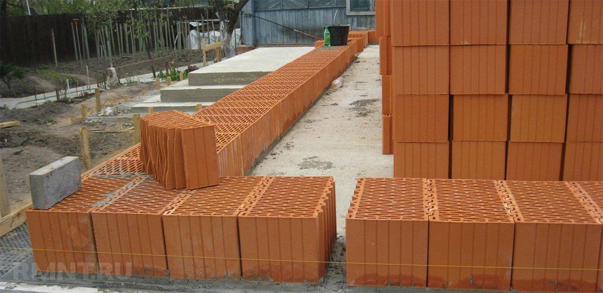 Керамические блоки для строительства дома: плюсы и минусы