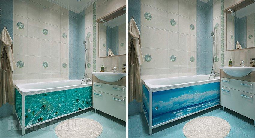 Аксессуары в дизайне ванной комнаты