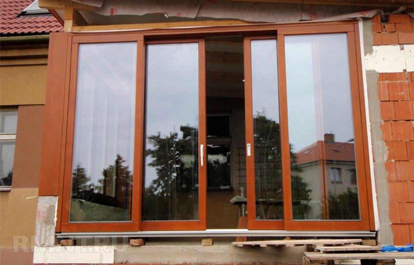 Раздвижные окна. Виды, способ монтажа, обслуживание и уход