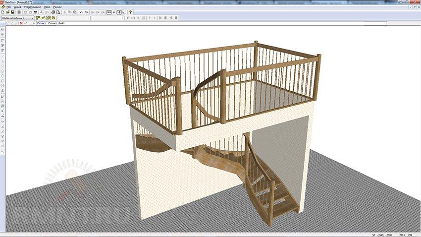 Проектирование лестницы в Staircon