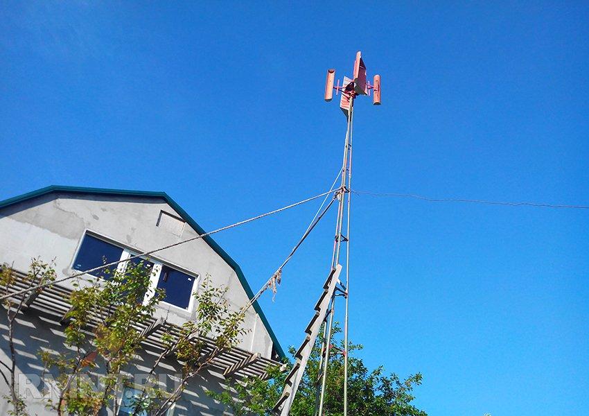 Бесплатная электроэнергия или как можно получить свет с помощью ветра