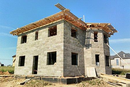 Как сделать бетонную отмостку вокруг дома фото 981