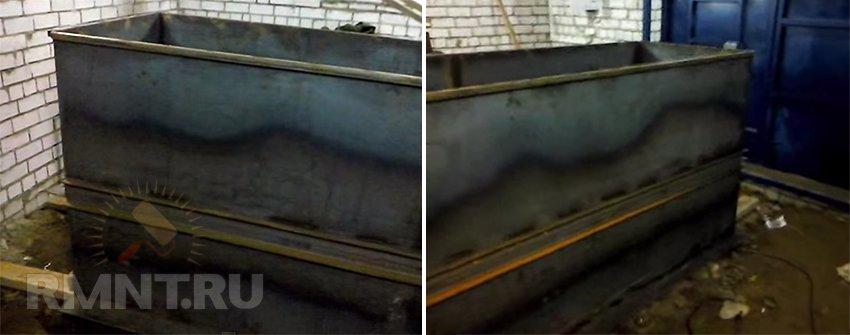 Металлическая смотровая яма в гараже железные гаражи являются ли недвижимым имуществом